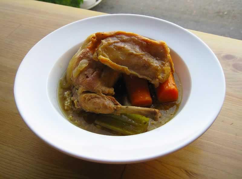 St Pancras Chapel Fish Crumble Rabbit stew